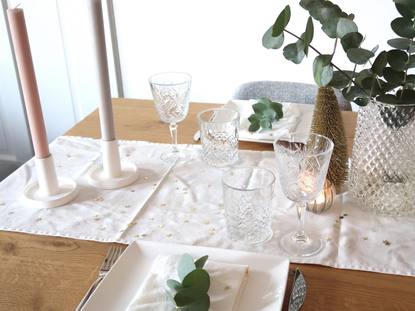 Setting your Christmas table - ByMeryl